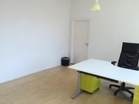 Kontoret er en del af et større kontorfællesskab