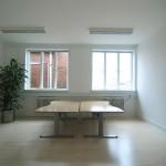Kontoret er på 46 m2